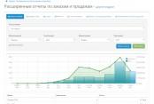 Расширенные отчеты по заказам и продажам на Opencart 2
