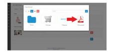 Загрузка PDF файлов Opencart 2