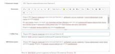Подсчет символов в мета тегах на Opencart 2