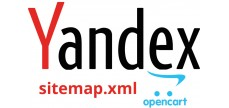 Модуль Yandex Sitemap для Opencart 2