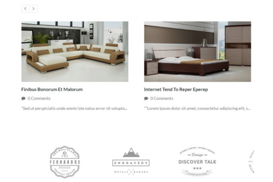 Шаблон Магазин мебели Opencart 2