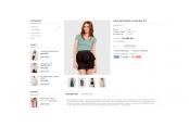 Шаблон магазина одежды Opencart 2