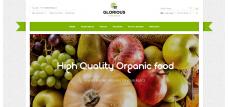 Шаблон магазина Фрукты и овощи Opencart 2