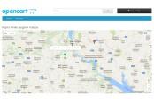 Модуль Карты Google Maps на Opencart 2