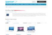 Модуль Производители в категории товаров Opencart 2