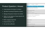 Модуль Вопрос-Ответ (вкладка карточки товара) Opencart