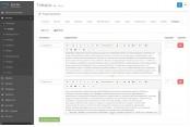Дополнительные вкладки в товаре для Opencart 2